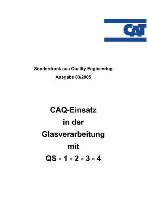 CAQ-Einsatz in der Glasverarbeitung